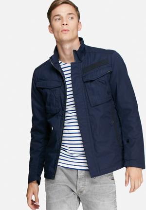 G-Star RAW Rovic Utility Jacket Navy