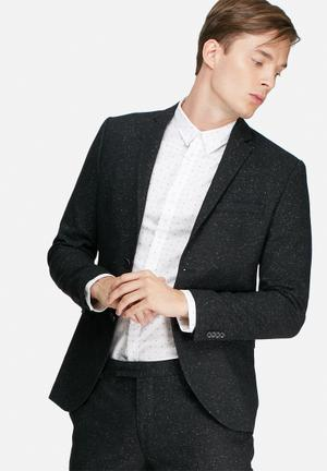 Jack & Jones Premium Leighton Slim Blazer Jackets & Coats Black