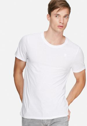 G-Star RAW Base 2 Pack Tee T-Shirts & Vests White