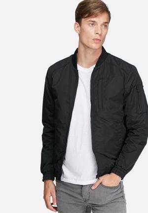 PRODUKT Brandon Bomber Jacket Black