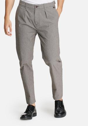 Selected Homme Wulf Tapered Pants Grey