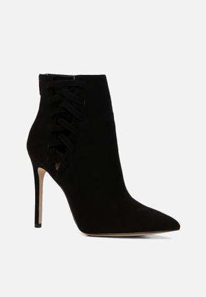 ALDO Tuxedo Boots Black