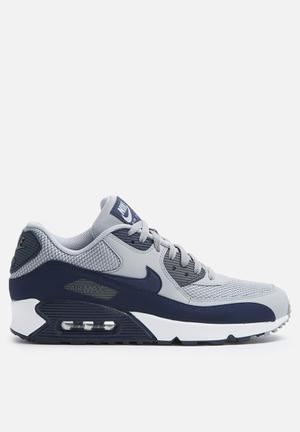 Nike Air Max 90 ESS Sneakers Wolf Grey / Binary Blue / Dark Grey