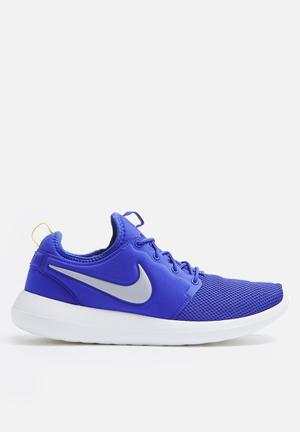 Nike Roshe Two Sneakers Paramount Blue / Wolf Grey / Electrolime