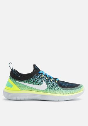 Nike Nike Free RN Distance 2 Sneakers Chlorine Blue / White / Electric Green / Black