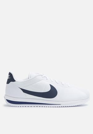 Nike Cortez Ultra Sneakers  White / Armory Navy