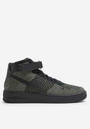 Nike Air Force 1 Ultra Flyknit Sneakers Palm Green / Black / White