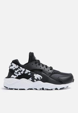 Nike W Air Huarache Run SE Sneakers Black / Black / White