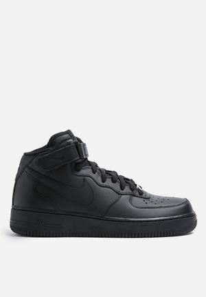 Nike W Air Force 1 '07 Mid Sneakers Black/ Black