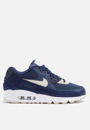 Nike W Air Max 90 ESS Sneakers Binary Blue / Oatmeal