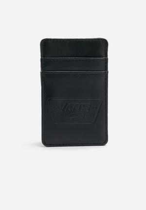 Vans Full Patch Card Holder Bags & Wallets Black