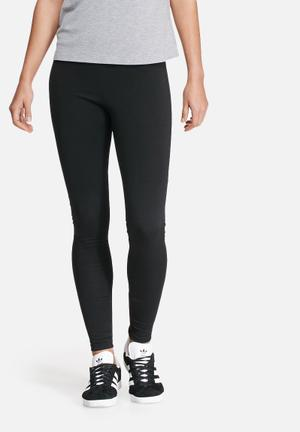 Dailyfriday Hi-waisted Treggings Trousers Black