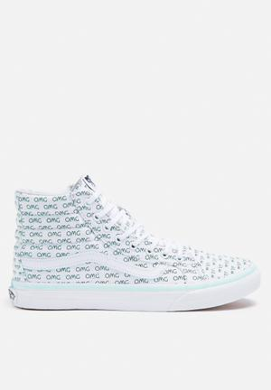 Vans SK8-Hi Slim Valentine Sayings Sneakers True White