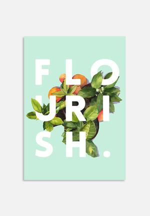 83 Oranges Flourish Art