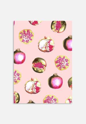 83 Oranges Pom Pink Art