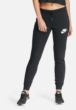 Nike Rally Pants Bottoms Black