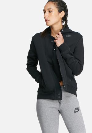 Nike Tech Fleece Destroyer Jacket Black