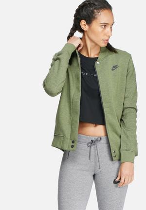 Nike Tech Fleece Destroyer Jacket Green