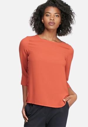 Vero Moda Gayle Blouse Burnt Orange