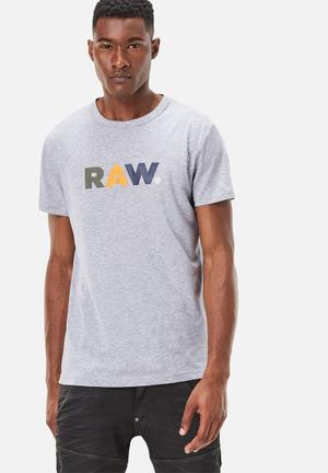 G-Star RAW Nister Tee T-Shirts & Vests Grey