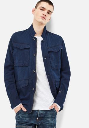 G-Star RAW Vodan Worker Blazer Jackets Blue