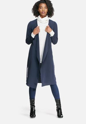 Vero Moda Maggie Lightweight Coat Jackets Navy