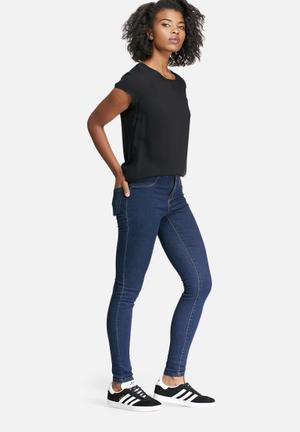 Vero Moda Majse Slim Jeans Blue