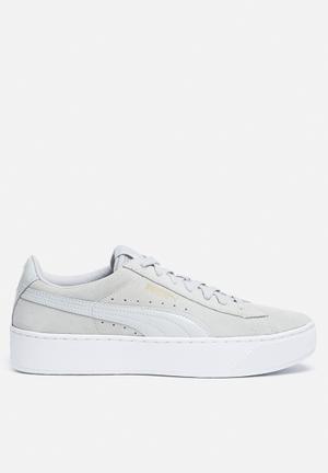 PUMA Vikky Platform Sneakers Gray Violet