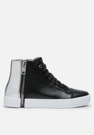 Diesel  S-Nentish Sneakers Black / Nickel