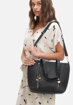 Dailyfriday Sanne Tote Bags & Purses Black