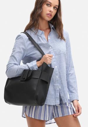 Dailyfriday Kim Buckle Bag Black