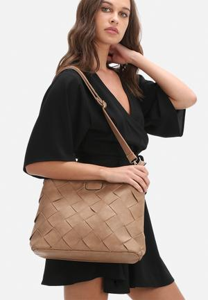 Dailyfriday Daphne Woven Bag Taupe