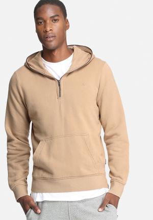 Jack & Jones Originals Campaign Hood Sweat Hoodies & Sweatshirts Stone