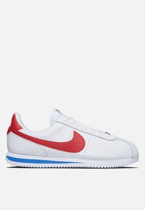 Nike Cortez Leather OG 'Forrest Gump' Sneakers White / Varsity Red / Varsity Royal