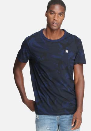 G-Star RAW Hoyn Tee T-Shirts & Vests Navy