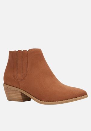 Call It Spring Ciardi Boots Tan