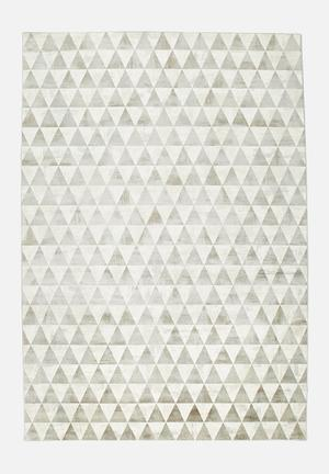 Hertex Fabrics Pyramid Peak Rug 60% Viscose 40% Cotton