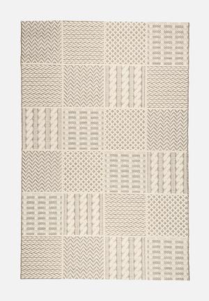 Fotakis Jersey Block Rug  100% Polyester