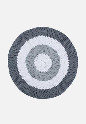 Off The Hook Gradient Yarn Rug 100% Cotton Yarn