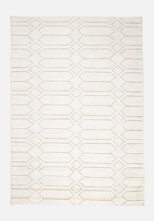 Sixth Floor Hovenia Rug Handwoven Bamboo Silk Dhurrie