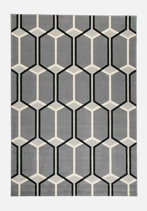 Hertex Fabrics Honeycomb Rug Heat Set Polyolefin Yarns