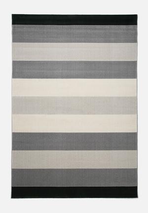 Hertex Fabrics Stripe Rug Heat Set Polyolefin Yarns