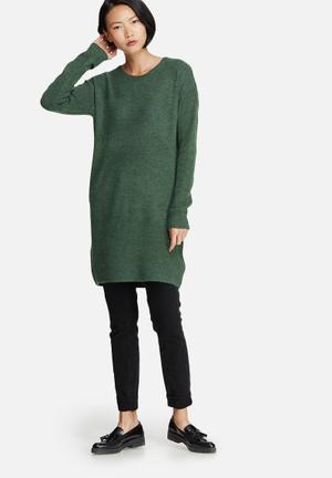 Fillac long wool knit