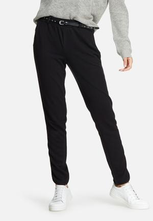 Vero Moda Thea Studded Belt Pants Trousers Black
