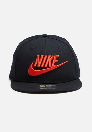 Nike Futura Snapback Headwear Black & Red