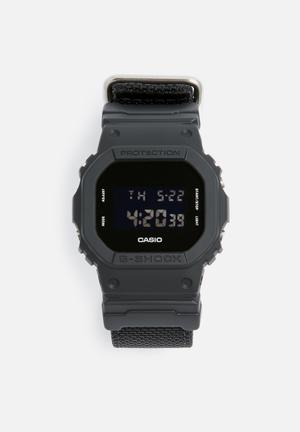 Casio G-Shock W.R. 20 Bar Watches Black