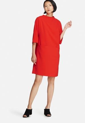 Selected Femme Flava Dress Formal Red