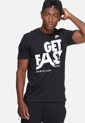 Nike International Tee T-Shirts Black