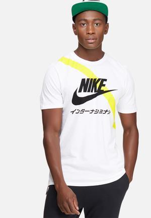 Nike International Tee T-Shirts White