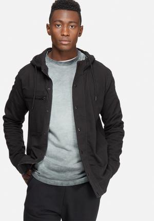 Only & Sons Baines Zip Hoodie Hoodies & Sweatshirts Black